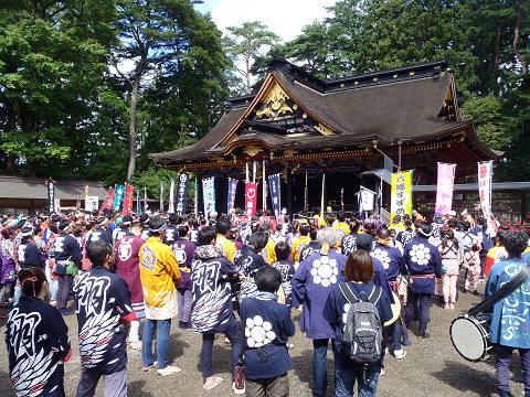 どんとロード八幡すずめ踊り2014_b0074601_2226797.jpg