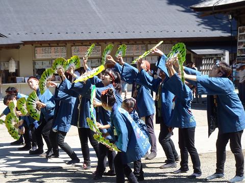 どんとロード八幡すずめ踊り2014_b0074601_22283785.jpg