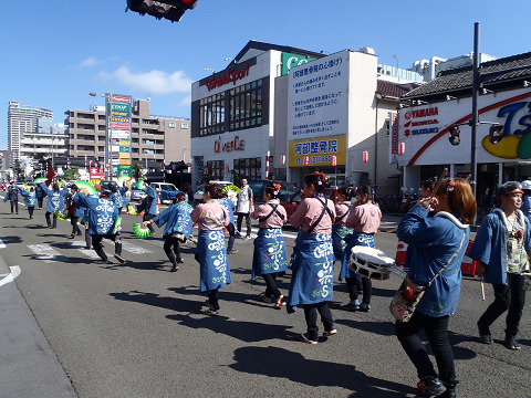 どんとロード八幡すずめ踊り2014_b0074601_22315252.jpg