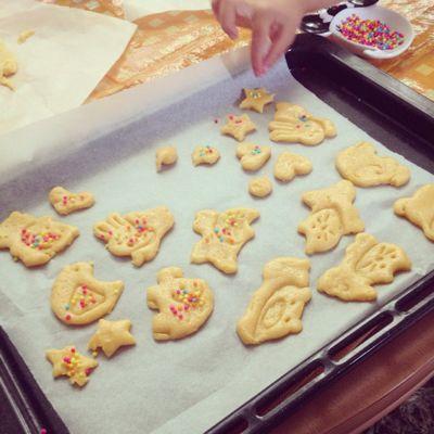 手作りクッキーと十五夜_d0115507_21241985.jpg