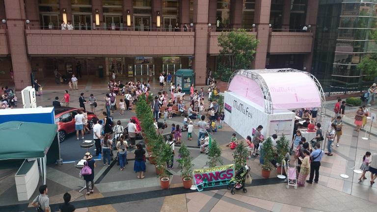 恵比寿ガーデンプレイス、ママフェスでもやっぱりキネティックサンドは大人気!_d0148223_541415.jpg