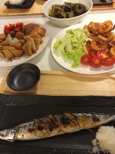 秋刀魚食べました・・・9/9②_b0247223_21151739.jpg