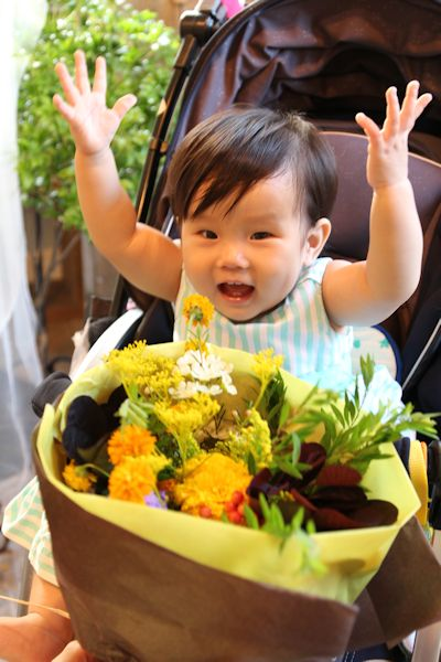 1歳 誕生日の花_d0086634_20010152.jpg
