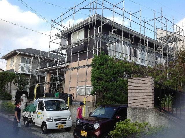 塗装作業12日目 終了 続いて追加工事分準備_f0031037_19194523.jpg
