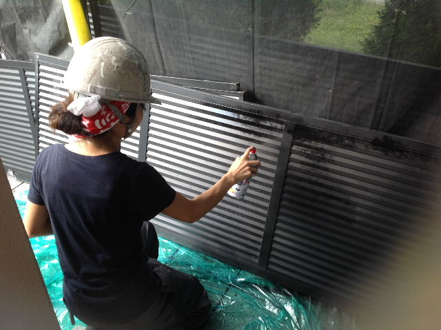 塗装作業12日目 終了 続いて追加工事分準備_f0031037_19201275.jpg