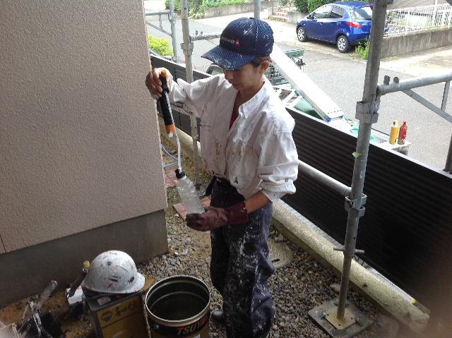 塗装作業12日目 終了 続いて追加工事分準備_f0031037_19203746.jpg