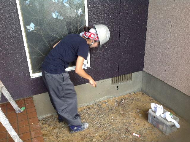 塗装作業12日目 終了 続いて追加工事分準備_f0031037_19204519.jpg