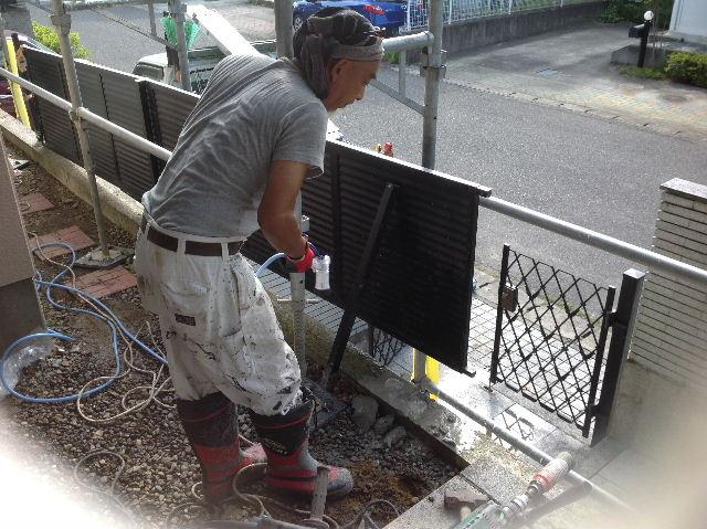 塗装作業12日目 終了 続いて追加工事分準備_f0031037_192054.jpg