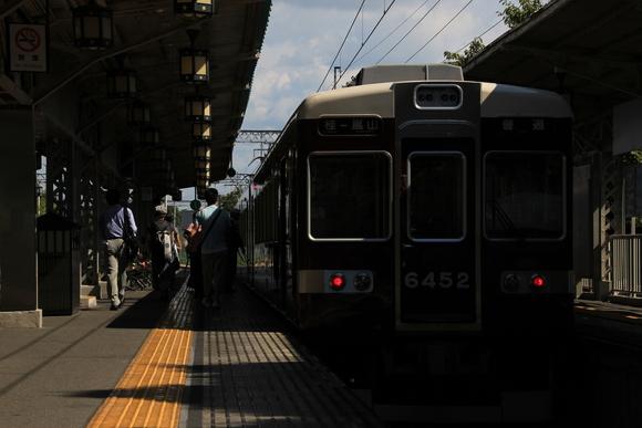 阪急嵐山駅 残暑が残る9月7日_d0202264_541351.jpg