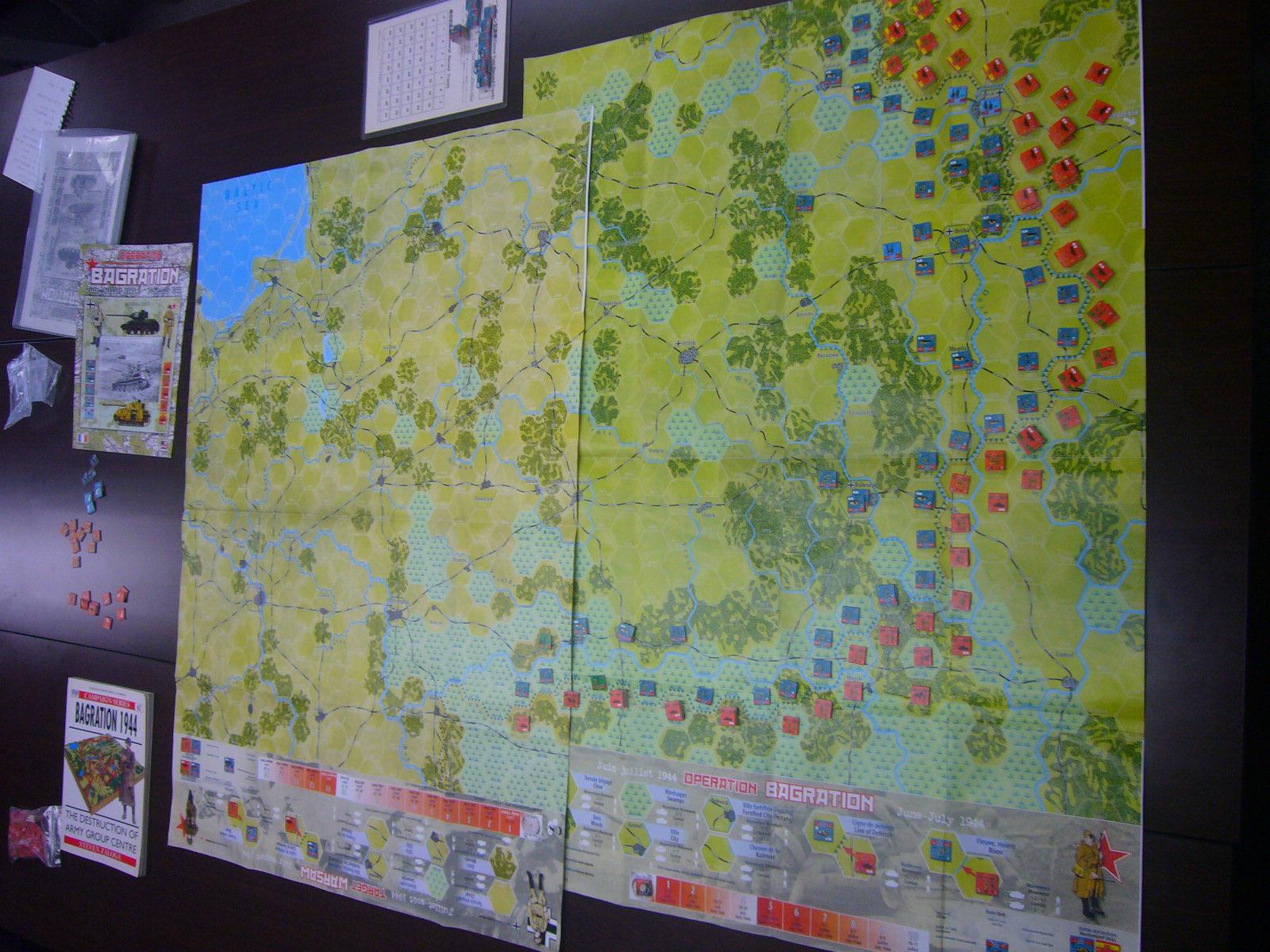 YSGA 9月例会の様子その3(仏C&H社製の東部戦線1944 『バグラチオン作戦』+『ワルシャワ蜂起』)その❶_b0173672_00034157.jpg