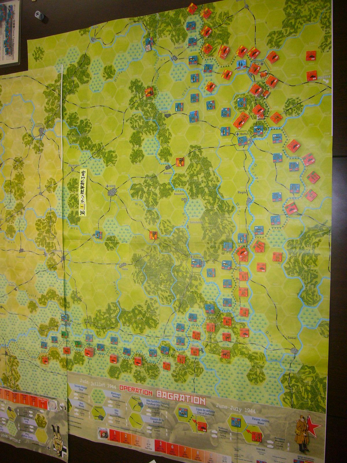 YSGA 9月例会の様子その3(仏C&H社製の東部戦線1944 『バグラチオン作戦』+『ワルシャワ蜂起』)その❶_b0173672_00040945.jpg
