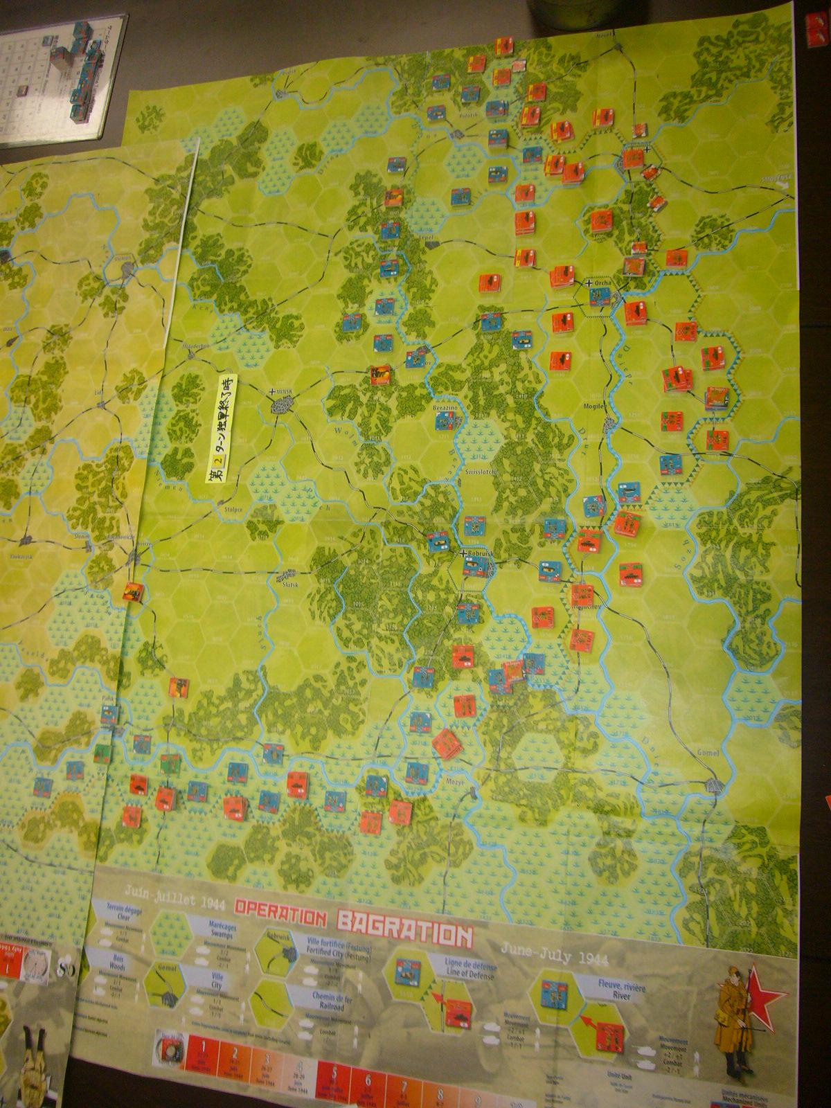 YSGA 9月例会の様子その3(仏C&H社製の東部戦線1944 『バグラチオン作戦』+『ワルシャワ蜂起』)その❶_b0173672_00042242.jpg