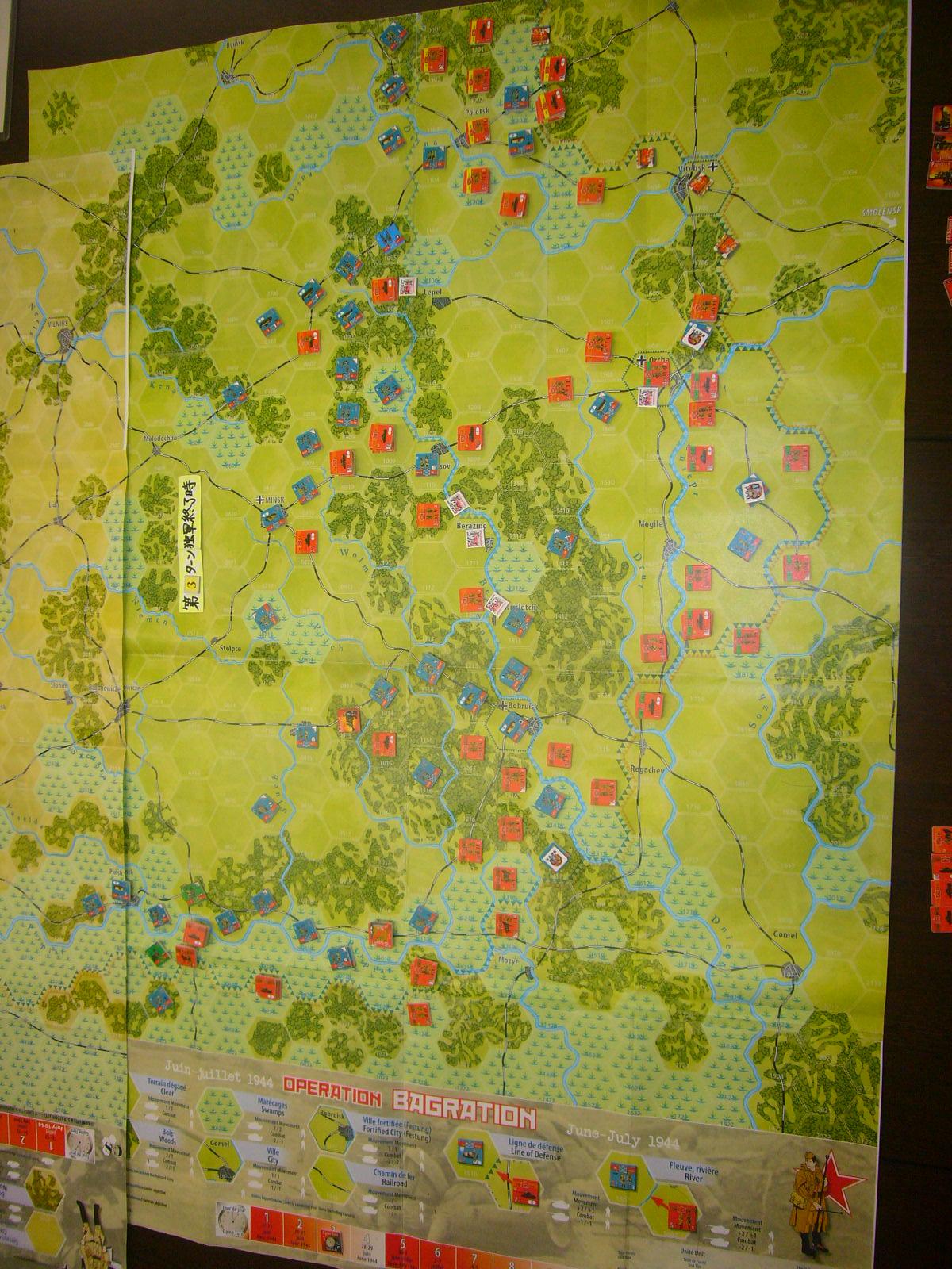 YSGA 9月例会の様子その3(仏C&H社製の東部戦線1944 『バグラチオン作戦』+『ワルシャワ蜂起』)その❶_b0173672_00043831.jpg