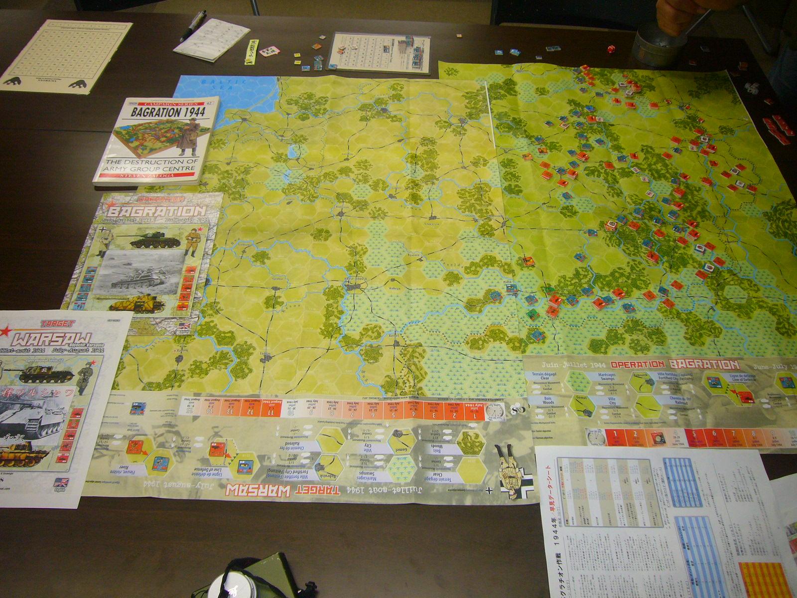 YSGA 9月例会の様子その3(仏C&H社製の東部戦線1944 『バグラチオン作戦』+『ワルシャワ蜂起』)その❶_b0173672_00050616.jpg