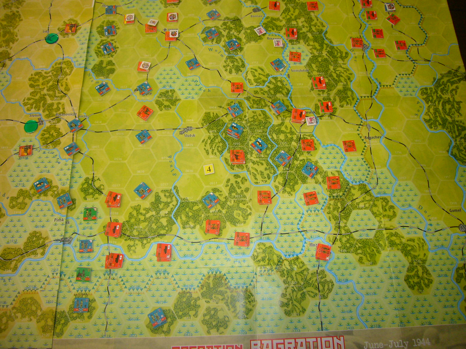 YSGA 9月例会の様子その4(仏C&H社製の東部戦線1944 『バグラチオン作戦』+『ワルシャワ蜂起』)その❷_b0173672_00055186.jpg