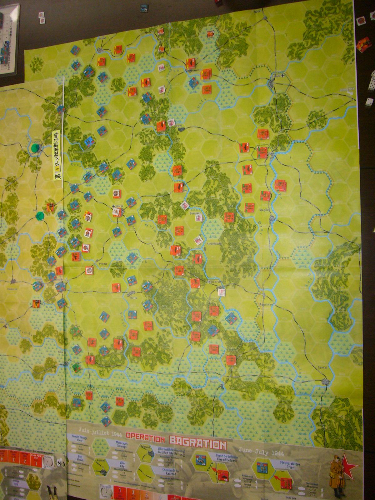 YSGA 9月例会の様子その4(仏C&H社製の東部戦線1944 『バグラチオン作戦』+『ワルシャワ蜂起』)その❷_b0173672_00060616.jpg