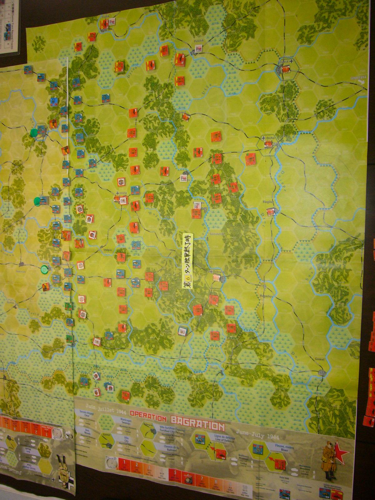 YSGA 9月例会の様子その4(仏C&H社製の東部戦線1944 『バグラチオン作戦』+『ワルシャワ蜂起』)その❷_b0173672_00062089.jpg
