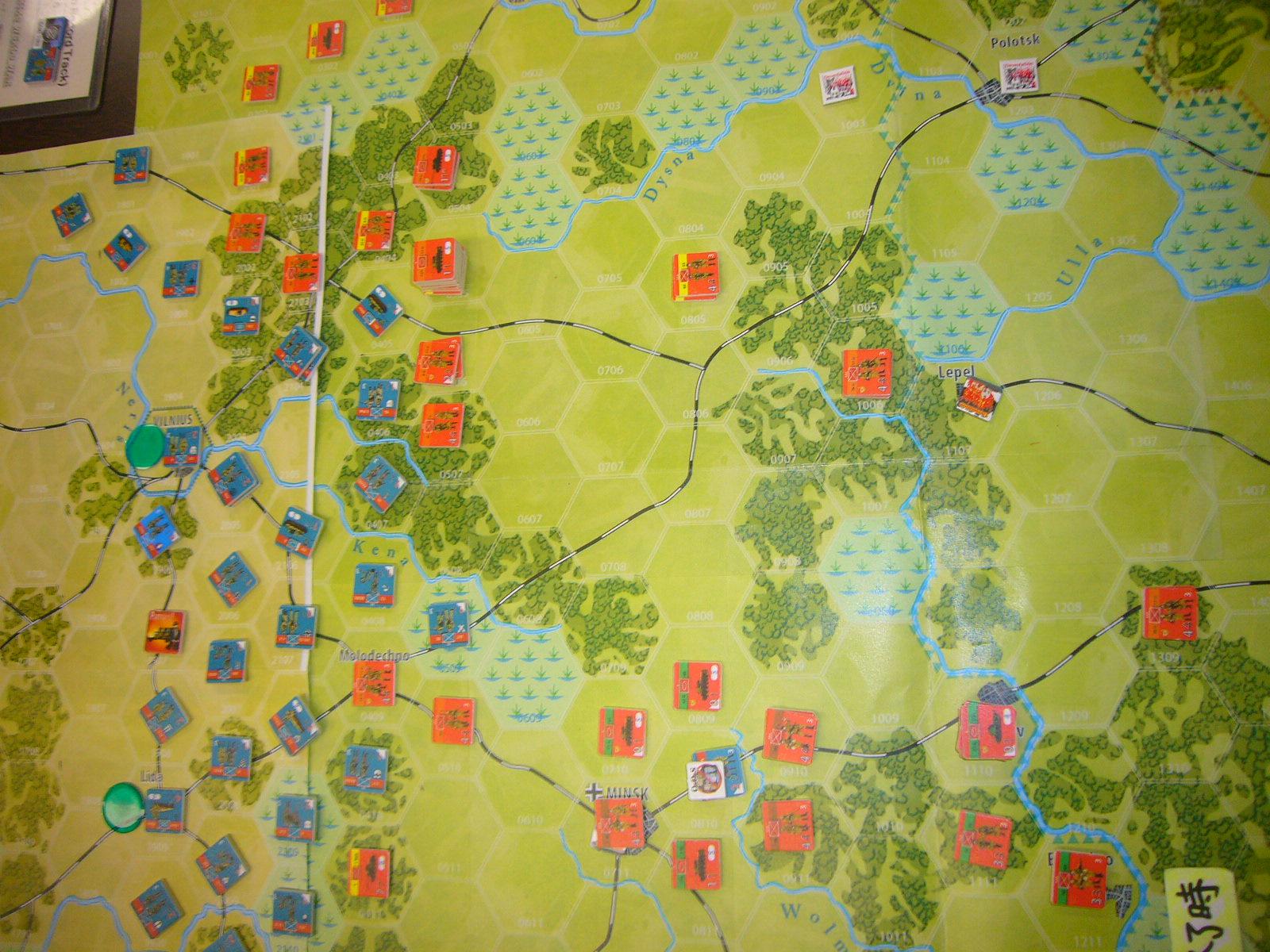 YSGA 9月例会の様子その5(仏C&H社製の東部戦線1944 『バグラチオン作戦』+『ワルシャワ蜂起』)その➌_b0173672_00071516.jpg
