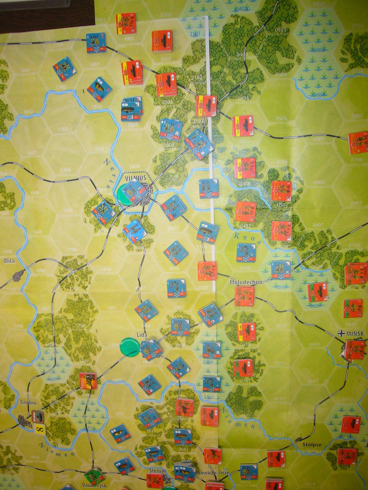 YSGA 9月例会の様子その5(仏C&H社製の東部戦線1944 『バグラチオン作戦』+『ワルシャワ蜂起』)その➌_b0173672_00075654.jpg