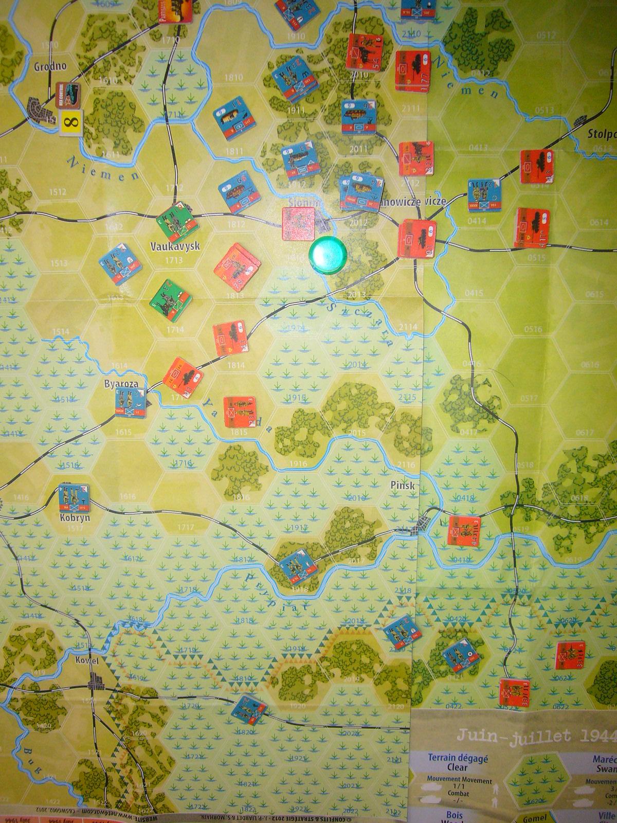 YSGA 9月例会の様子その5(仏C&H社製の東部戦線1944 『バグラチオン作戦』+『ワルシャワ蜂起』)その➌_b0173672_00080936.jpg