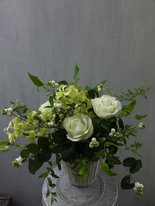 オークリーフ(黄緑色の花)_f0049672_18124396.jpg
