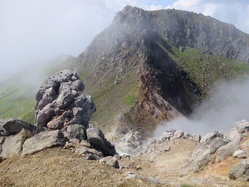焼岳から上高地を望む(水彩画)_e0233674_8131927.jpg