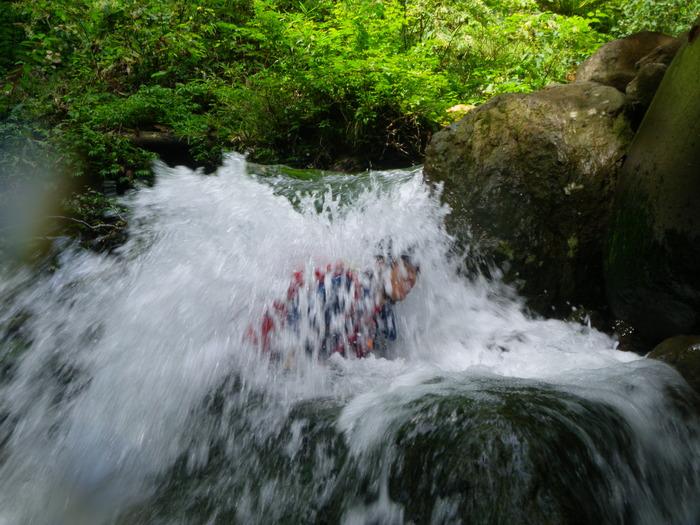 吾妻の不動沢で水遊び ~ 2014年9月6日_f0170180_19262347.jpg