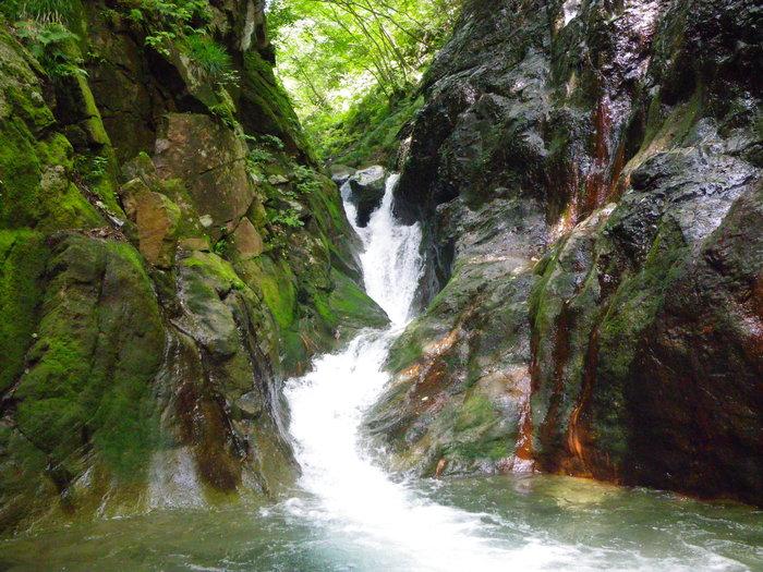 吾妻の不動沢で水遊び ~ 2014年9月6日_f0170180_1932148.jpg