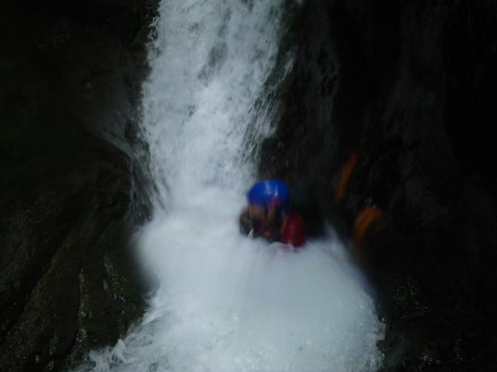 吾妻の不動沢で水遊び ~ 2014年9月6日_f0170180_19333641.jpg
