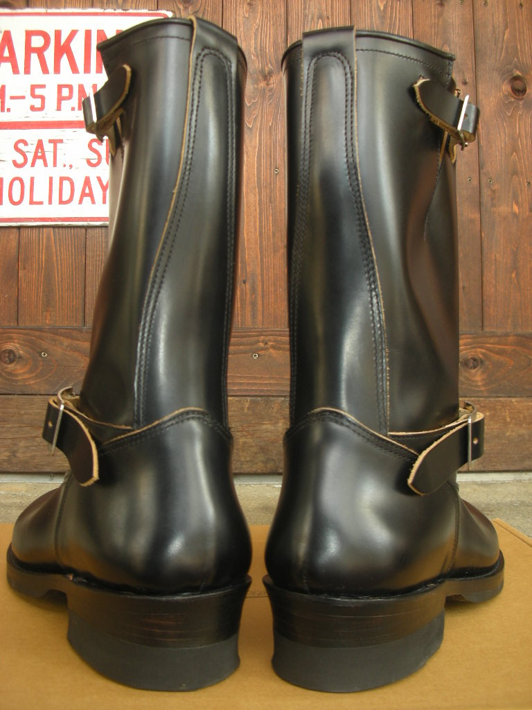 ATTRACTIONS Lot.269 ENGINEER BOOTS(STEER HIDE)_c0187684_1872639.jpg