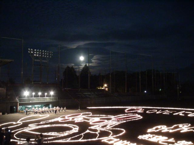 新居浜市の観月会とキャンドルアート2014スーパームーンの事…2014・9・9_f0231709_1061237.jpg