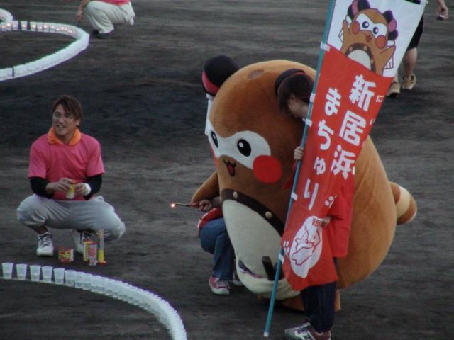 新居浜市の観月会とキャンドルアート2014スーパームーンの事…2014・9・9_f0231709_9131831.jpg
