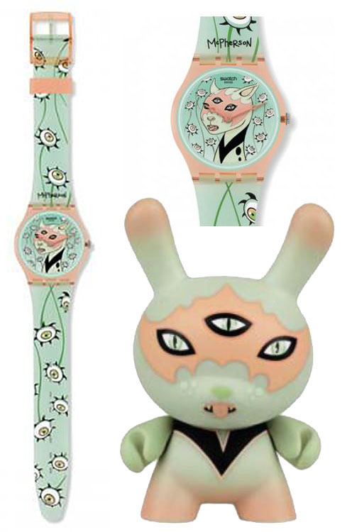 Swatch and 3-inch Dunny by Tara McPherson_e0118156_15225883.jpg