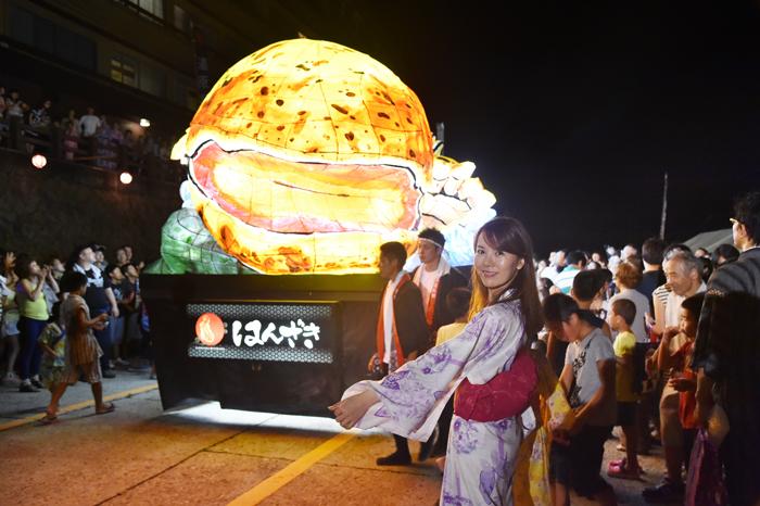 岡山県湯原温泉郷「はんざき祭り」ありがとう!!_e0261371_16565507.jpg