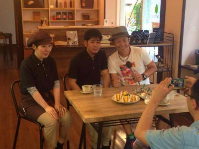 Cafe ajironokiさんより生中継♪ ABCラジオ「武田和歌子のぴたっと」_a0277483_951468.jpg