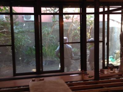 庭からゲット♪_f0232994_0475261.jpg