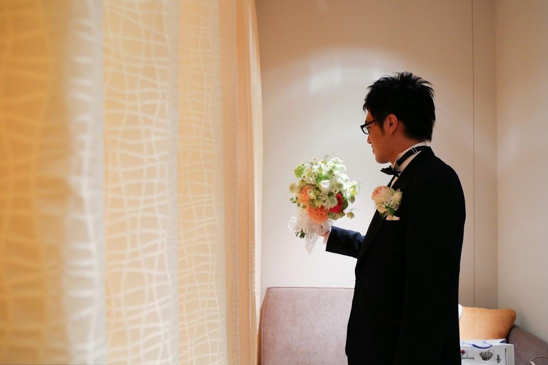 新郎新婦様からのメール 手作りの花、振袖の花、そして芍薬の季節に パレスホテル様へ2_a0042928_2225568.jpg