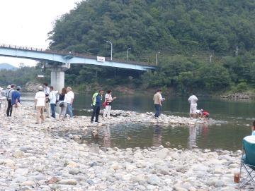9月6日 徳山ダム・エクスカーションとシンポジウム_f0197754_1101274.jpg