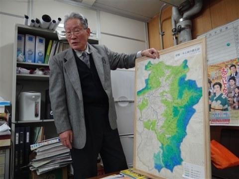 「伊賀水と緑の会」畑中尚さん、ご逝去/川上ダム_f0197754_1521423.jpg