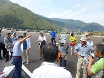 9月6日 徳山ダム・エクスカーションとシンポジウム_f0197754_184442.jpg