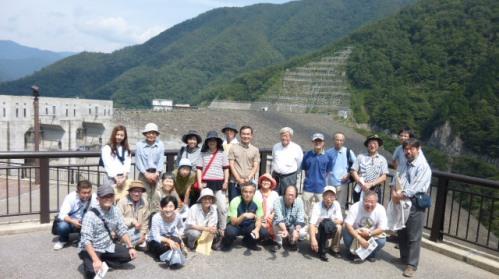 9月6日 徳山ダム・エクスカーションとシンポジウム_f0197754_195738.jpg
