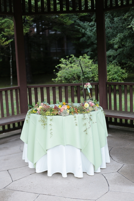 夏の装花 軽井沢ハーヴェストクラブ様へ 感覚のあう花屋_a0042928_23174355.jpg