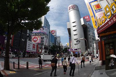 9月12日(金)の渋谷109前交差点_b0056983_11140411.jpg