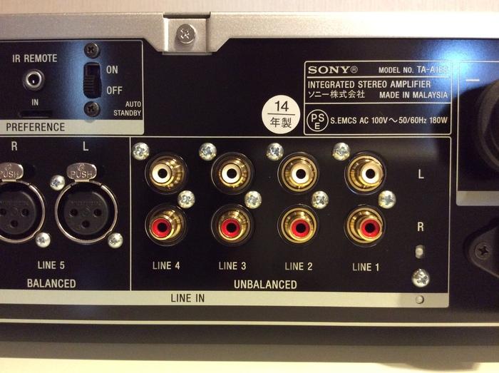 SONY TA-A1ES 中古  _b0292692_1632574.jpg