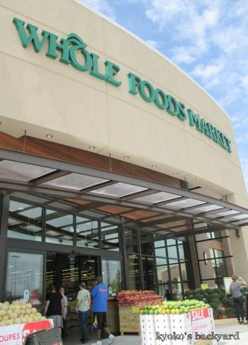 ウィチタにもWhole Foods Market、オープン!_b0253205_04220345.jpg