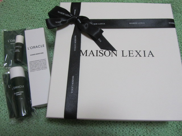 MAISON LEXIAで『夏のアフターケア』_a0100706_20545528.jpg