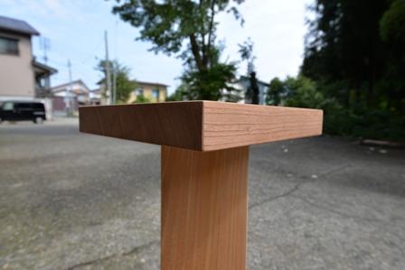木のスピーカースタンド!_a0128408_17541150.jpg