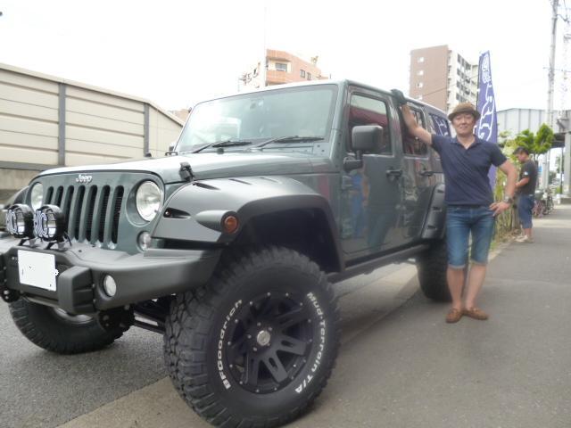 9月13日 新車 JKラングラー フルカスタム 納車_d0001708_1275386.jpg