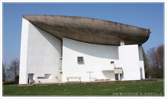 La chapelle Notre-Dame du Haut ロンシャン礼拝堂_d0184921_1734149.jpg