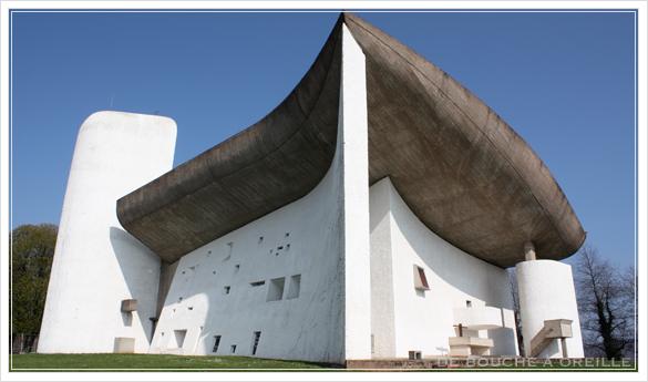 La chapelle Notre-Dame du Haut ロンシャン礼拝堂_d0184921_17414592.jpg